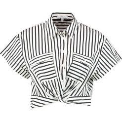 Mavi STRIPED Koszula black. Czarne bluzki asymetryczne Mavi, l, z bawełny. Za 149,00 zł.