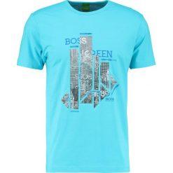 T-shirty męskie z nadrukiem: BOSS Green REGULAR FIT Tshirt z nadrukiem blue atoll