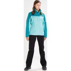 Marmot PRECIP Kurtka hardshell waterfall/deep lake. Niebieskie kurtki sportowe damskie Marmot, xl, z hardshellu, outdoorowe. W wyprzedaży za 230,45 zł.