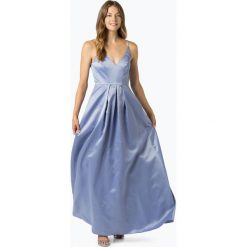 Marie Lund - Damska sukienka wieczorowa, niebieski. Niebieskie sukienki hiszpanki Marie Lund, wizytowe. Za 649,95 zł.