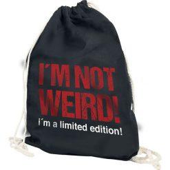 Not Weird Torba treningowa czarny. Czarne torebki klasyczne damskie Not Weird. Za 32,90 zł.