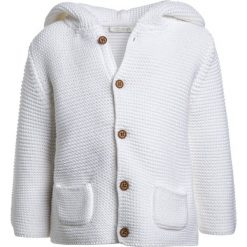 Swetry chłopięce: Next HOODED CARDIGAN BABY  Kardigan white
