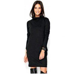Numinou Sukienka Damska 42 Czarny. Czarne sukienki hiszpanki Numinou, z golfem. Za 189,00 zł.