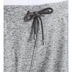 Spodnie dresowe damskie: Zizzi LOUNGE TRACK PANT Spodnie treningowe grey melange