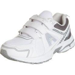 """Buty sportowe """"KR-Run 5"""" w kolorze białym. Brązowe buty sportowe męskie marki Reebok, z materiału. W wyprzedaży za 122,95 zł."""