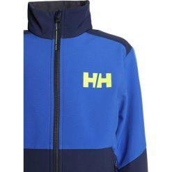 Helly Hansen EDGE SOFTSHELL JACKET Kurtka Softshell olympian blue. Niebieskie kurtki chłopięce sportowe marki bonprix, z kapturem. W wyprzedaży za 356,15 zł.