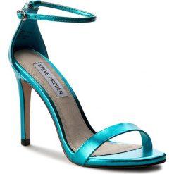 Sandały damskie: Sandały STEVE MADDEN - Stecy Sandal 91000080-0W0-07004-04022 Blue Metallic