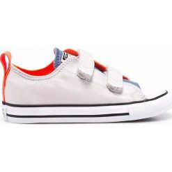 Converse - Tenisówki dziecięce. Szare buty sportowe chłopięce marki Converse, z materiału. W wyprzedaży za 149,90 zł.