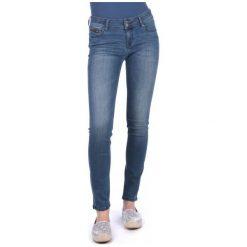 Mustang Jeansy Damskie Sissy 26/34 Niebieski. Niebieskie jeansy damskie marki Mustang, z aplikacjami, z bawełny. W wyprzedaży za 229,00 zł.