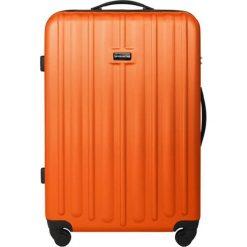 Walizki: Walizka w kolorze pomarańczowym – (S)52 x (W)77 x (G)31 cm