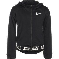 Nike Performance CORE STUDIO Bluza rozpinana black. Czarne bluzy dziewczęce rozpinane marki Nike Performance, z bawełny. Za 199,00 zł.