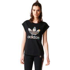 Bluzki damskie: Adidas Koszulka damska  JARDIM AGHARTA BF ROLL UP TEE czarna r. 36 (BR5169)