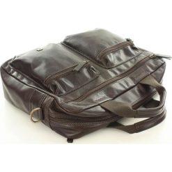 DAAG Skórzana torba na laptopa TAKE AWAY 7 brąz. Czerwone torby na laptopa daag, w paski, ze skóry. Za 549,00 zł.