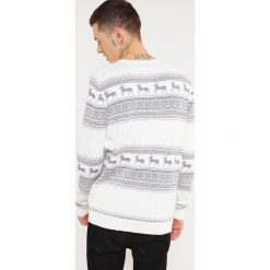 Swetry męskie: Selected Homme SHXNEW REINDEER Sweter marshmallow