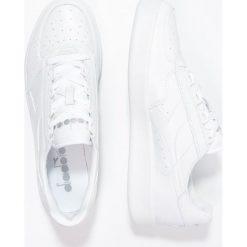 Diadora B.ELITE Tenisówki i Trampki white. Białe tenisówki damskie Diadora, z materiału. Za 379,00 zł.