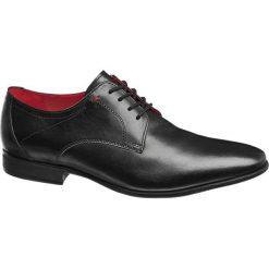 Buty wizytowe męskie: eleganckie buty męskie Claudio Conti czarne
