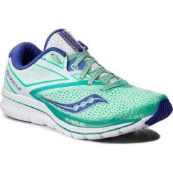 Buty SAUCONY - Kinvara 9 S10418-35 Aqu/Wht. Zielone buty do biegania damskie Saucony, z materiału. W wyprzedaży za 359,00 zł.