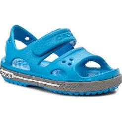Sandały CROCS - Crocband II Sandal Ps 14854 Ocean/Smoke. Niebieskie sandały chłopięce marki Crocs, z tworzywa sztucznego. Za 129,00 zł.