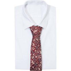 Vivienne Westwood Krawat bordeaux. Czerwone krawaty męskie Vivienne Westwood, z jedwabiu. Za 379,00 zł.