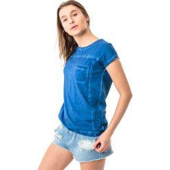 4f Koszulka damska H4L18-TSD013 niebieska r. M. Niebieskie bluzki damskie 4f, l. Za 34,42 zł.