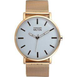"""Zegarki męskie: Zegarek kwarcowy """"Salus"""" w kolorze złoto-białym"""