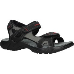 Czarne sandały na rzepy Casu 9S-FH86403. Czarne sandały męskie Casu, na rzepy. Za 69,99 zł.