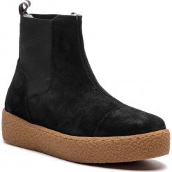 Sztyblety MARC O'POLO - 809 14915001 300 Black 990. Czarne buty zimowe damskie Marc O'Polo, ze skóry ekologicznej. Za 549,00 zł.