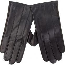 Rękawiczki Męskie WITTCHEN - 39-6L-342-1 Czarny. Czarne rękawiczki męskie Wittchen, ze skóry. Za 289,00 zł.