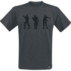 Fortnite Floss Dance T-Shirt szary. Szare t-shirty męskie z nadrukiem Fortnite, xxl, z okrągłym kołnierzem. Za 74,90 zł.