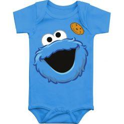 Body niemowlęce: Ulica Sezamkowa Cookie Monster Body niebieski