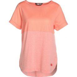 The North Face INLUX Tshirt basic desert flower. Różowe topy sportowe damskie marki The North Face, m, z nadrukiem, z bawełny. Za 199,00 zł.