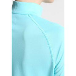 ODLO SLIQ Koszulka sportowa blue radiance/black. Niebieskie t-shirty damskie Odlo, xl, z materiału, z długim rękawem. W wyprzedaży za 153,30 zł.
