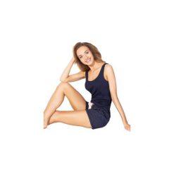 Piżamy damskie: Piżama damska we wzory, Z KOKARDKĄ