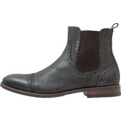 Pantofola d`Oro LAMBRO CHELSEA UOMO HIGH Botki dark shadow. Czarne botki męskie Pantofola d`Oro, z materiału. W wyprzedaży za 408,85 zł.