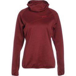 PYUA ALBEDO HOODED Bluza z polaru burgundy red. Czerwone bluzy sportowe damskie PYUA, l, z materiału. W wyprzedaży za 356,85 zł.
