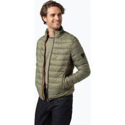 Kurtki męskie bomber: Solid – Męska kurtka pikowana – Kendrick Light, zielony