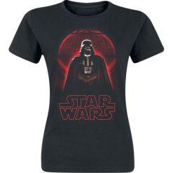 Star Wars Rogue One - Darth Vader Koszulka damska czarny. Czarne bluzki damskie Star Wars, l, z motywem z bajki, retro, ze stojącym kołnierzykiem. Za 54,90 zł.