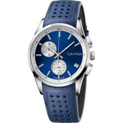ZEGAREK CALVIN KLEIN BOLD K5A371VN. Niebieskie zegarki męskie marki Calvin Klein, szklane. Za 1499,00 zł.