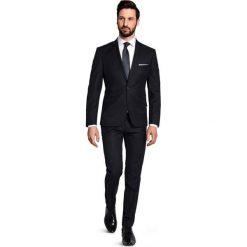 Garnitur CRISTIANO 1 A15-28PO. Czarne garnitury Giacomo Conti, z wełny. Za 599,00 zł.