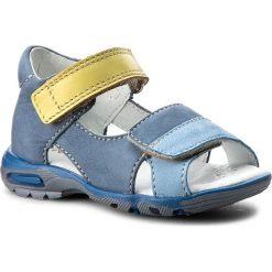 Sandały MIDO - 21-02 Niebieski. Niebieskie sandały męskie skórzane Mido. W wyprzedaży za 139,00 zł.