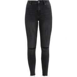 Cheap Monday HIGH SPRAY Jeans Skinny Fit reused black. Szare rurki damskie Cheap Monday. Za 249,00 zł.