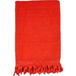 Chusta hammam w kolorze czerwonym - 200 x 140 cm. Czerwone chusty damskie Le Comptoir de la Plage, z bawełny. W wyprzedaży za 85,95 zł.