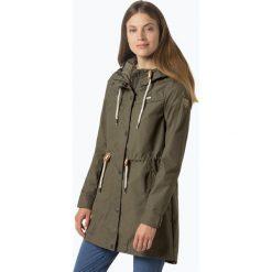 Odzież damska: Ragwear – Parka damska – Canny, zielony