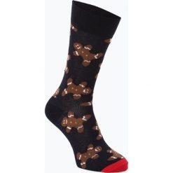 Happy Socks - skarpety z drobnej dzianiny, niebieski. Niebieskie skarpetki męskie Happy Socks, z dzianiny. Za 39,95 zł.