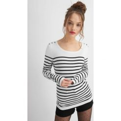 Odzież damska: Sweter w paski