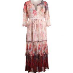 Cream CLAUDIA Długa sukienka american beauty red. Czerwone długie sukienki marki Cream, z materiału, z długim rękawem. W wyprzedaży za 639,00 zł.