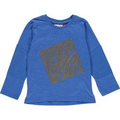 """Koszulka """"Tyler 602"""" w kolorze niebieskim. Niebieskie t-shirty chłopięce z długim rękawem LEGO Wear, z aplikacjami. W wyprzedaży za 49,95 zł."""