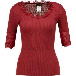 T-shirty damskie: Rosemunde Tshirt z nadrukiem maroon