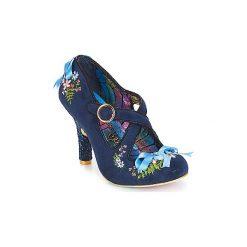 Czółenka Irregular Choice  Beryll Blossom. Niebieskie buty ślubne damskie Irregular Choice. Za 579,00 zł.