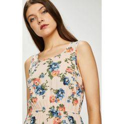 Haily's - Sukienka Amalia. Szare sukienki mini Haily's, na co dzień, l, z tkaniny, casualowe, z okrągłym kołnierzem, oversize. Za 69,90 zł.